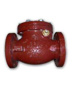 "CHECK VALVE 4"" CAST IRON FLANGED"