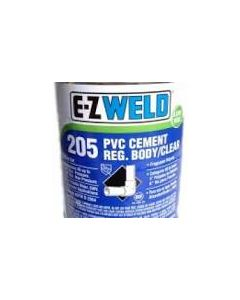 Pvc Cement Clear P4 1 Qt. (32 Oz)