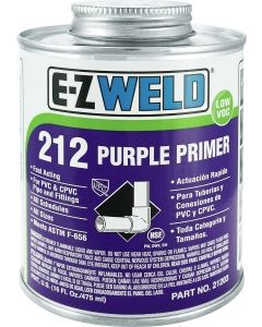 PVC CEMENT PURPLE PRIMER 1 QT.