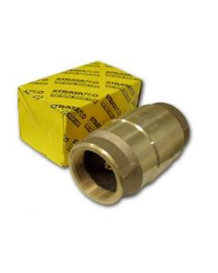 "STRATAFLO SPRING CHECK VALVE 11/2"" BRASS THREADED"