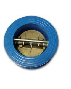 "Wafer Split Disc Check Valve 4"" Cvc-4 Double Wing"