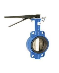 Cast Iron Wafer Butterfly Valve 3""